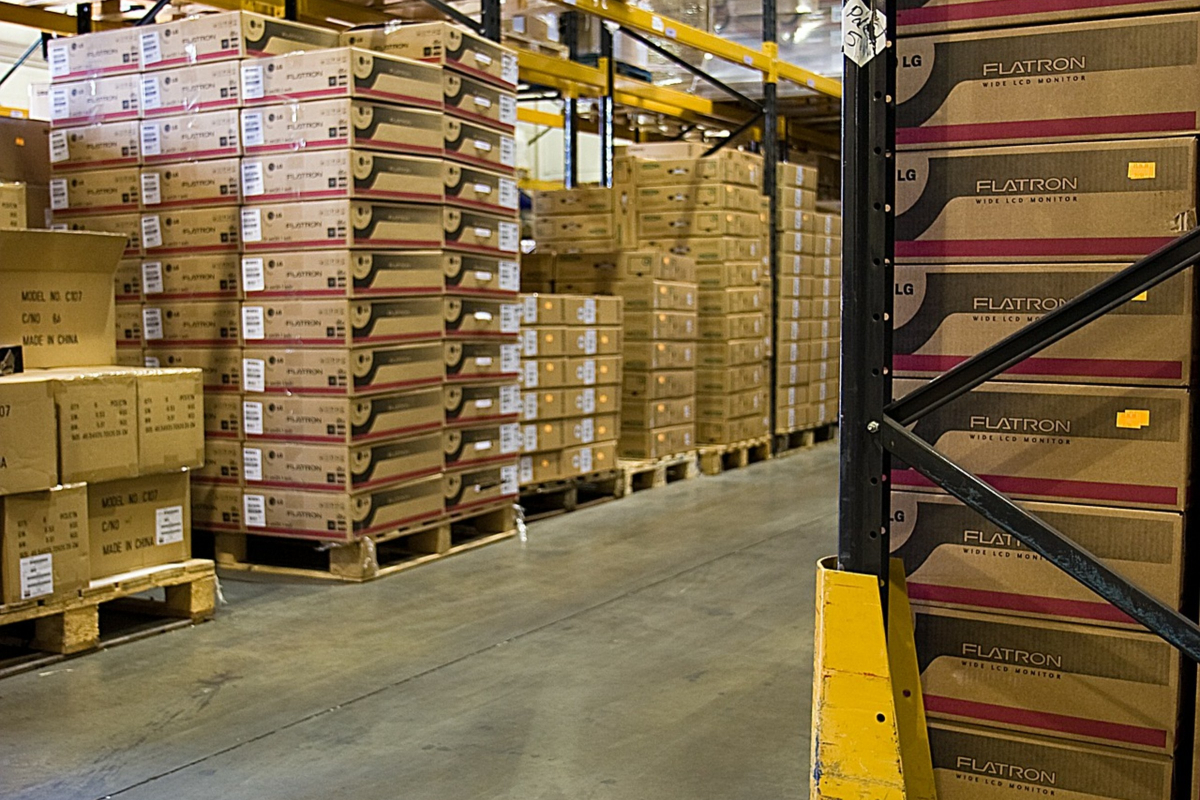 warehouse, pallet, merchandise, manufacturing, distribution, product