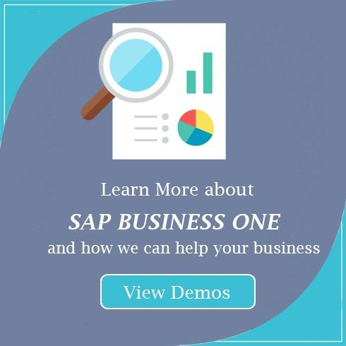 SAP Business One Video Demo CTA
